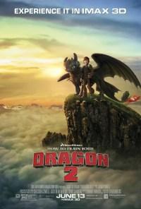 Cómo entrenar a tu dragón 2: mejor póster de película de animación