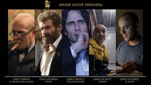 Blogos de oro 2018 - Actor principal