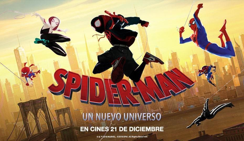 Spider-Man Un nuevo universo 2018