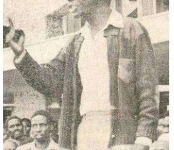Titus Adungosi - Mysterious Deaths During Former President Moi Era, Still Unsolved.