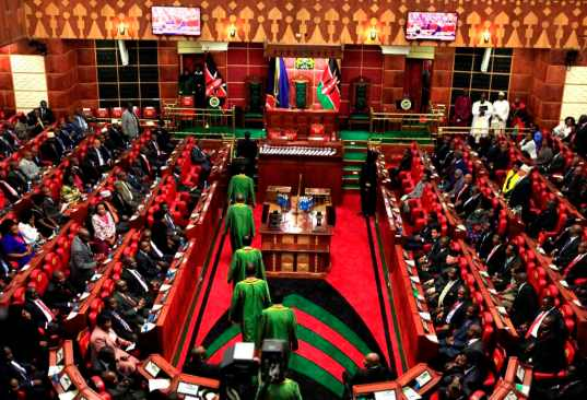 MPs Resume Session On COVID -19 Pandemic