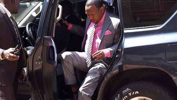 Mike Sonko Discharged from Nairobi Hospital