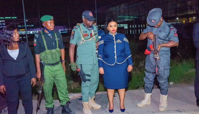Rev Natasha Receives Heroic welcome in Nigeria, Offered State Security