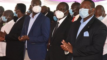 Jubilee Track Record Angers Kenyans