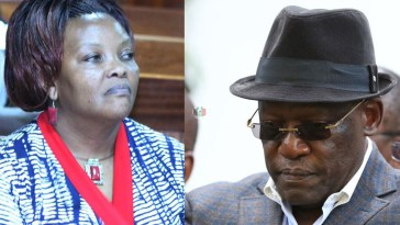 Muthama Suffers A Blow As Wiper Picks His EX-Wife For Senatorial By-Election.