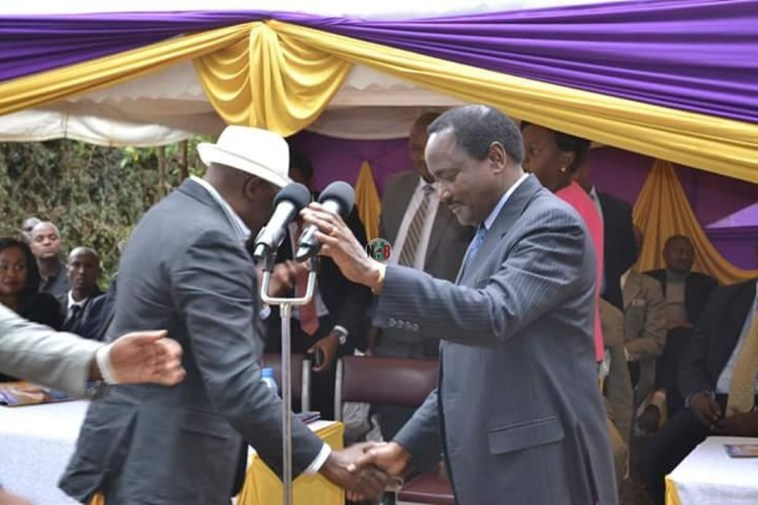Angry Muthama Almost Fought Kalonzo