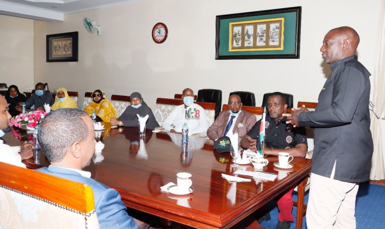 DP William Ruto Holds a High Profile Meeting