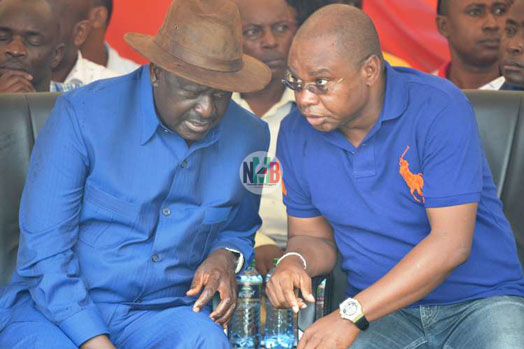 How Raila Odinga Managed To SWEET TALK Amason Kingi In Kilifi (Video)