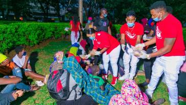 Rev Lucy Natasha Shows Love For Street Children With Good Donations