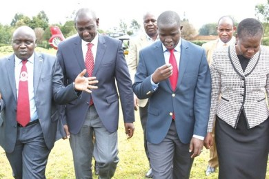 ruto leaves jubilee