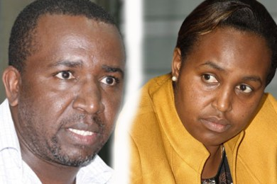 Mithika Linturi and maryanne Keitany