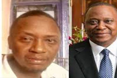 Uhuru Kenya and look alike