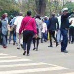 kenyans on the streets
