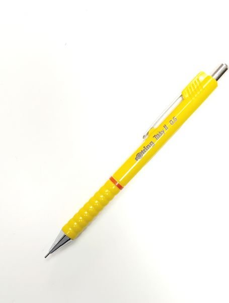 Rotring Tikky II pen pencil yellow