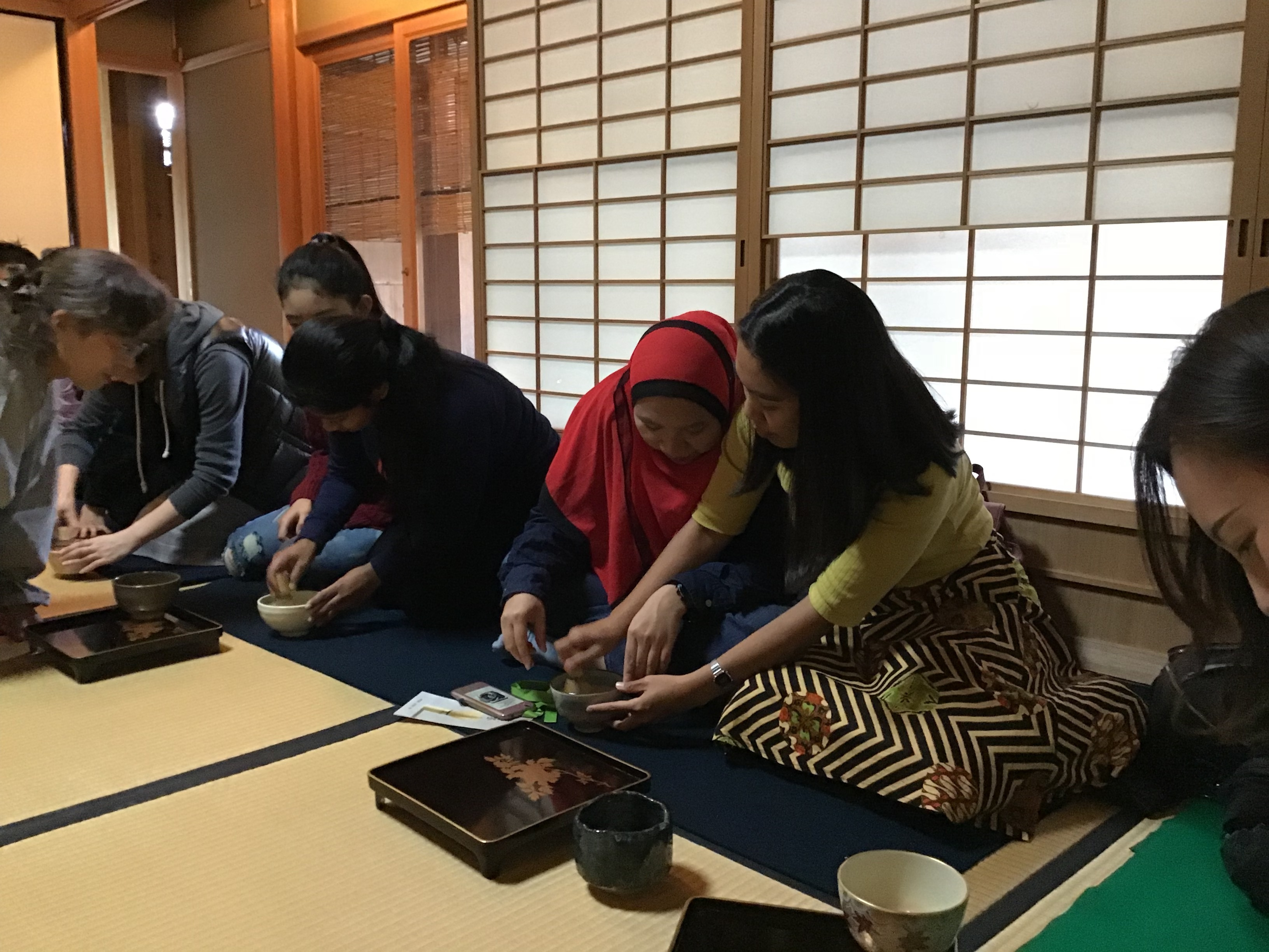 Japanese Culture Activity For International Students November 10 Nara Institute Of