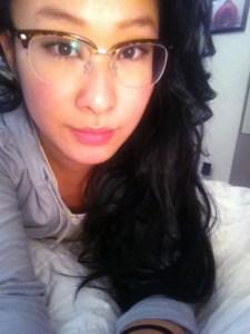 hurrah new glasses for najin