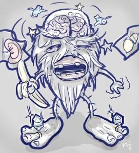 Daily Doodle #141 – Pictoffect: Cyclosporine