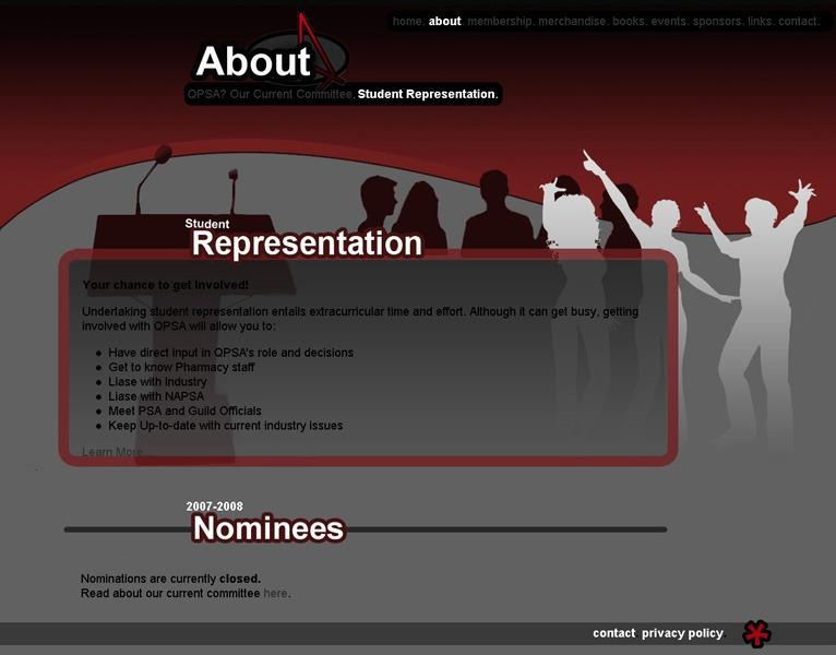 QPSA Website Design