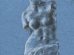 Art Academy 3ds Sketch: Venus de Milo Torso