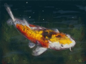 Art Academy Painting – Koi Fish