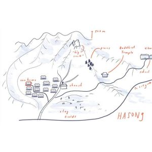 Hasong Town Map – Rough Draft