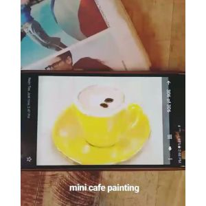 Painting: Mini Cafe Sketchbook Xpress using Note 3