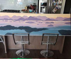 Painting: [San Juan Islands]