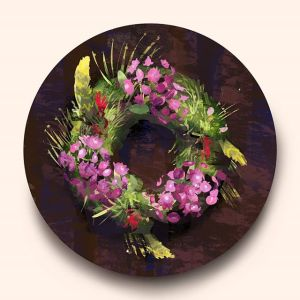 Painting Plan [Digital 2D]: Endangered BC Wildflowers Wreath️