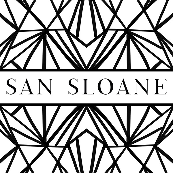 Logo & Pattern Drafts for SAN SLOANE