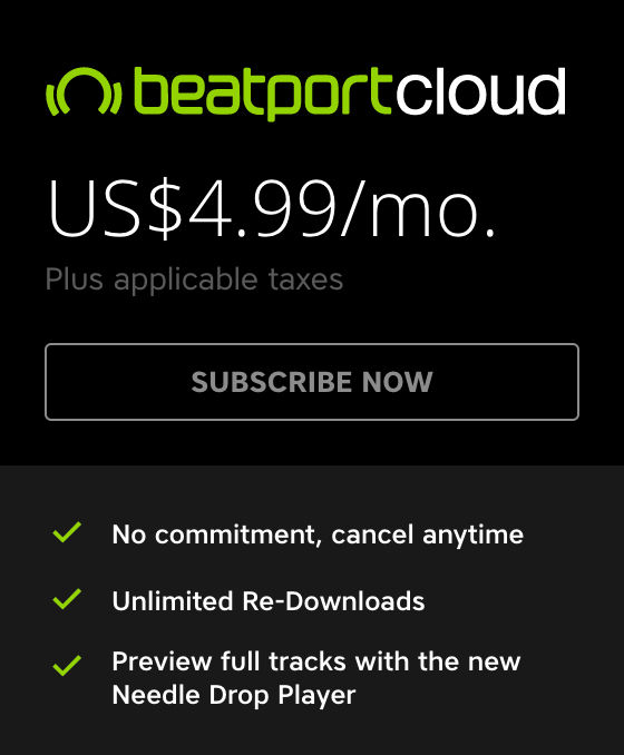 Beatport cloud price