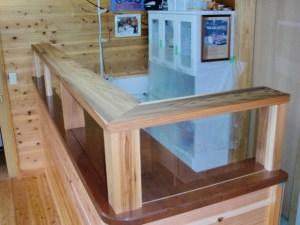 杉製のトップ棚板