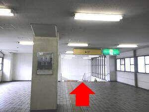 近鉄今川駅からのルート写真1