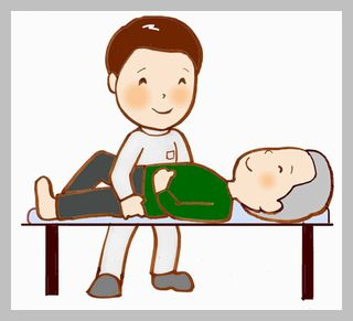 大阪市東住吉区の針中野で骨盤矯正を受ける男性のイメージ写真