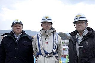 左より中山社長、澤田さん、石澤さん