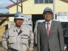 左から宮川さん中山社長