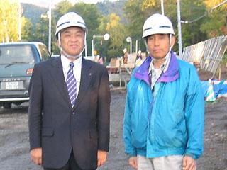 左から中山社長、小林さん