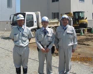 左から 木村さん、田中さん,中山社長