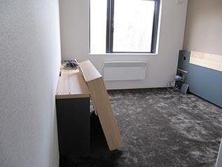 お部屋の一室、敷かれている絨毯の 肌触りがとても良かったです