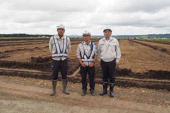 左から今村さん、山田所長、中山社長