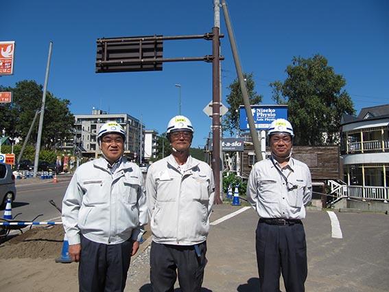 左から中山社長、三上さん、土居さん