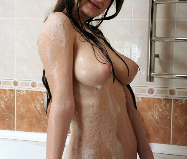 Soapy Wet Big Tits Teen Sweetheart