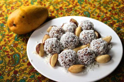 Mango Coconut Energy Bites