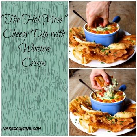 The Hot Mess Cheesy Dip
