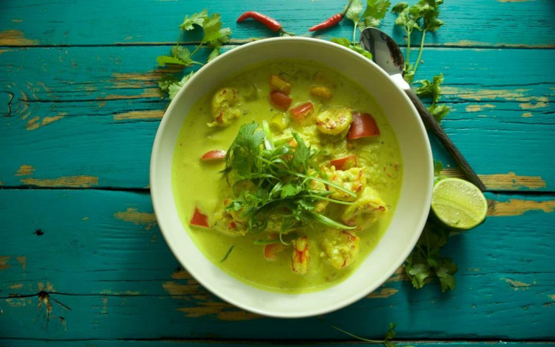 Malai Prawn Curry