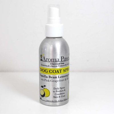 Dog Coat Spray - Vanilla Bean Lemongrass
