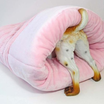 Original Pink Cozy Burrow Bed