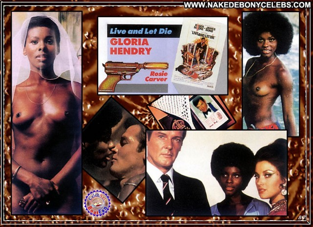 Gloria Hendry Live And Let Die Ebony Posing Hot Brunette Sensual Sexy