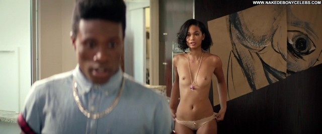 Chanel Iman Dope Small Tits Celebrity Doll Ebony Sensual Skinny