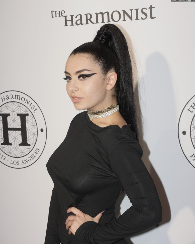 Charli Xcx Sexy Babe Singer Party Celebrity Braless Beautiful Posing