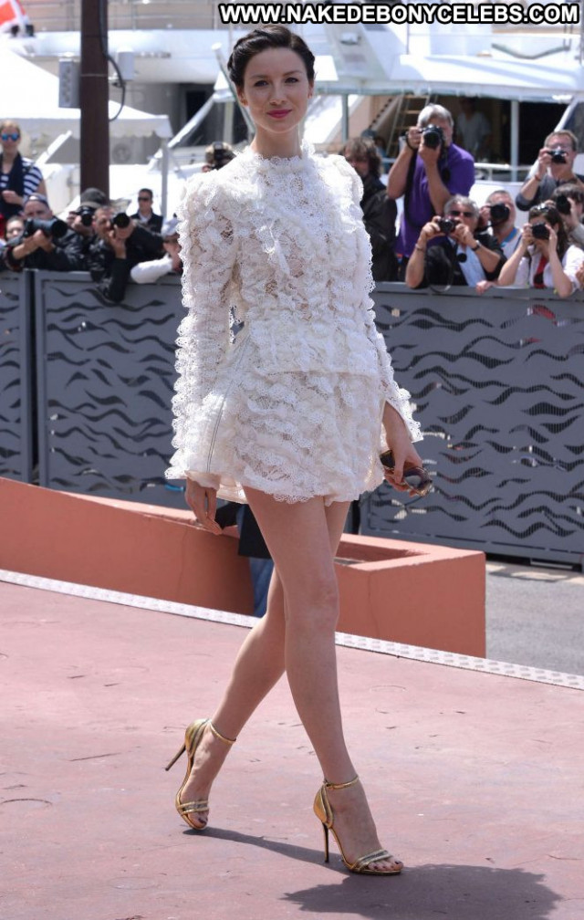 Caitriona Balfe Cannes Film Festival Beautiful Paparazzi Monster